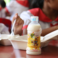 Fresh Soy Milk and Snacks for 120 Children A Day