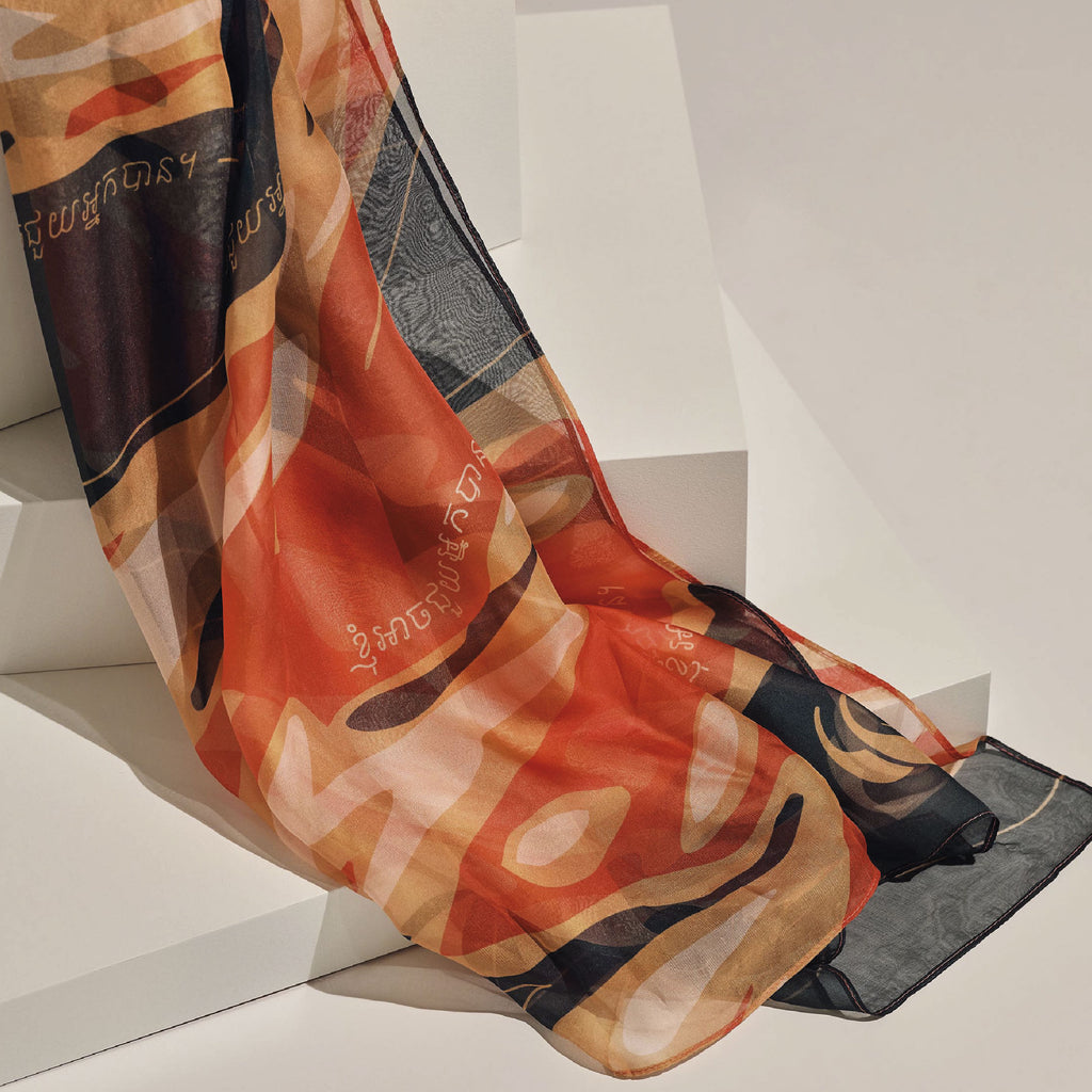 BLAZE by Mark Ong (Designer Scarf)
