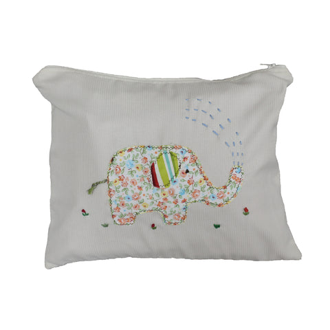 Elephant Applique Wet Bag