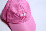 Satin Pink Dad Hat | Image 2