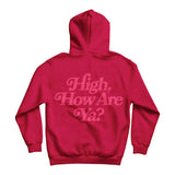 High How Are Ya Cherry Hoodie | Image 3