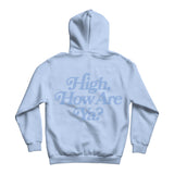 High How Are Ya Baby Blue Hoodie | Image 3