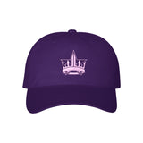 Purple Crown Dad Hat | Image 1