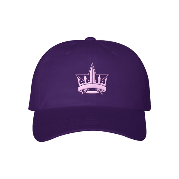 Purple Crown Dad Hat