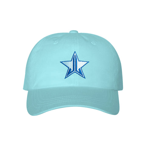 Blue Stitch Blue Blood Dad Hat