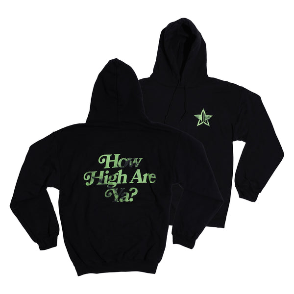 How High Are Ya? Black Hoodie