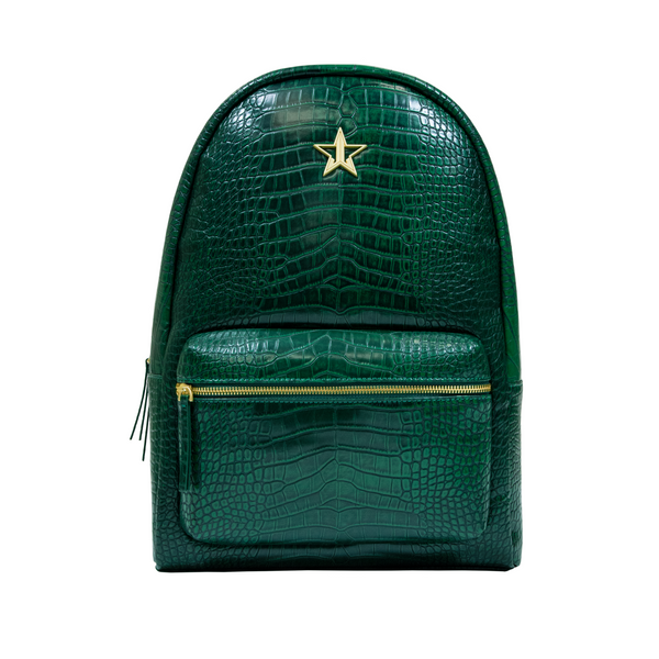 Green Crocodile Backpack