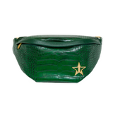 Green Crocodile Cross Body | Image 1