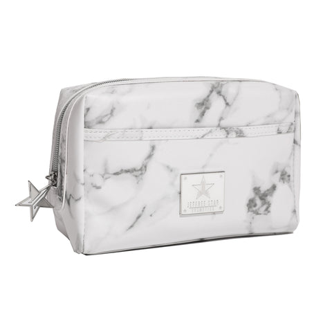 White Marble Makeup Bag