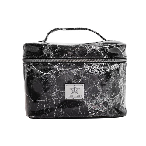 Black Marble Travel Bag