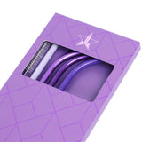 Purple Metal Straw 4-Pack | Image 2