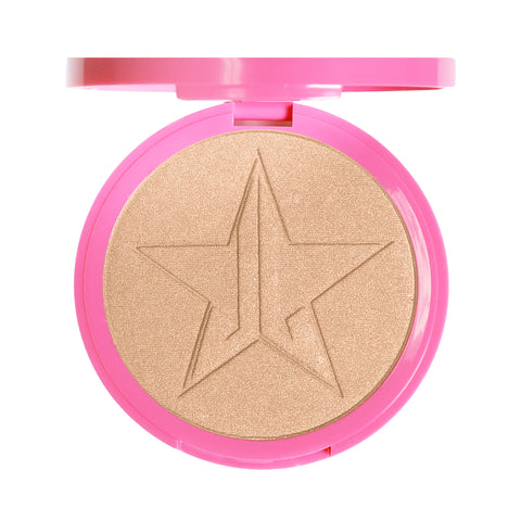 Soft gold skin frost highlighter
