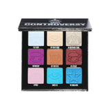 9 pan eyeshadow palette with mix of finishes and cool tone shades | Image 1