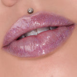 Sickening | sheer pale lavender with gold, pink, & blue multidimensional sparkle | Image 44