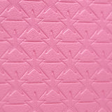 Pink double zipper star imprinted makeup bag | Image 4