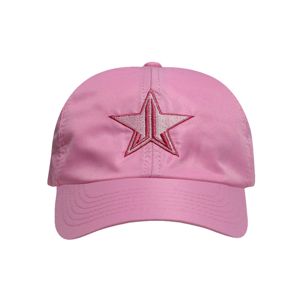 Satin Pink Dad Hat