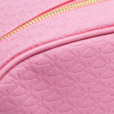 Pink double zipper star imprinted makeup bag | Image 3