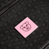 Shane Dawson pig and Jeffree Star logo imprint black travel makeup bag | Image 2