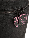 Shane Dawson pig and Jeffree Star logo imprint black travel makeup bag | Image 3
