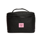 Shane Dawson pig and Jeffree Star logo imprint black travel makeup bag | Image 1
