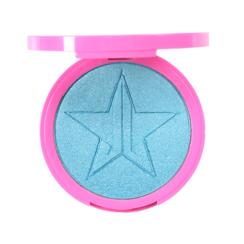 Ocean blue skin frost highlighter