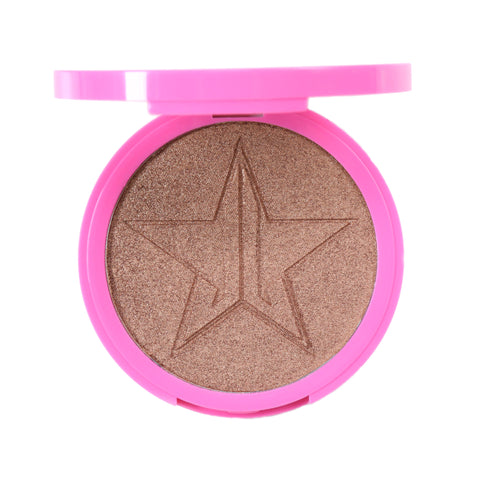 Bronze skin frost highlighter