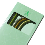 Green Metal Straw 4-Pack | Image 2