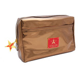 Copper brown reflective makeup bag | Image 1