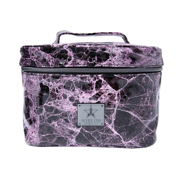 Pink Marble Travel Bag