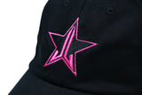 Star Logo Black Dad Hat | Image 2