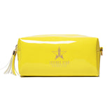Chartreuse vinyl Jeffree Star Cosmetics accessory bag | Image 1