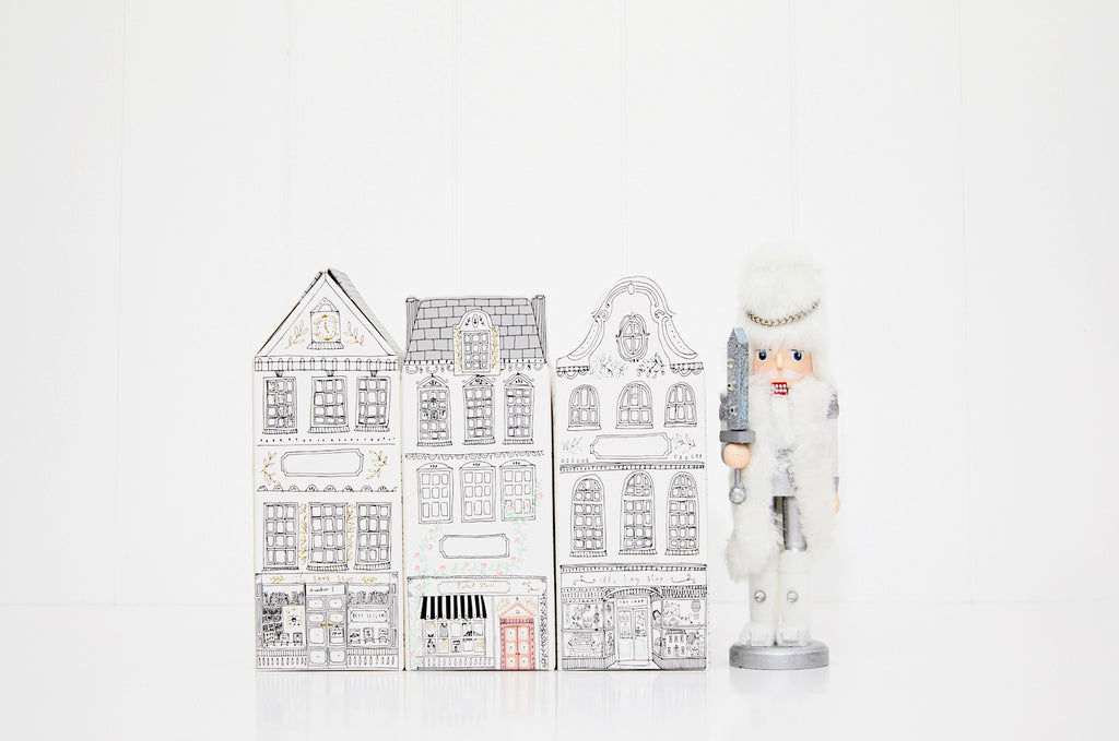 White Christmas mini 3 pack