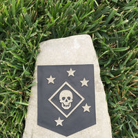 Etched in Stone! Custom Military and Patriotic Rocks