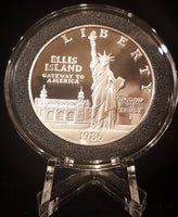 Commemorative Silver Dollars - 1986 Statue Of Liberty Centennial Proof Commemorative Silver Dollar