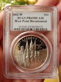 Commemorative Silver Dollars - 2002 West Point Silver Dollar