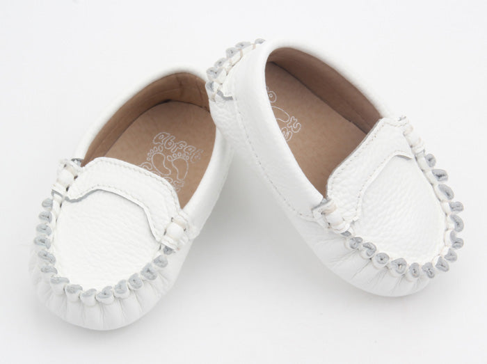 Leather Baby Loafer Shoes – Abfab Feet