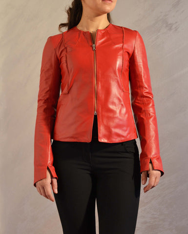 "Jacket genuine leather ""Nika"""