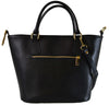 Trapeze handbag of saffiano leather