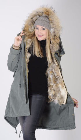 Military Parka Long 3 in 1