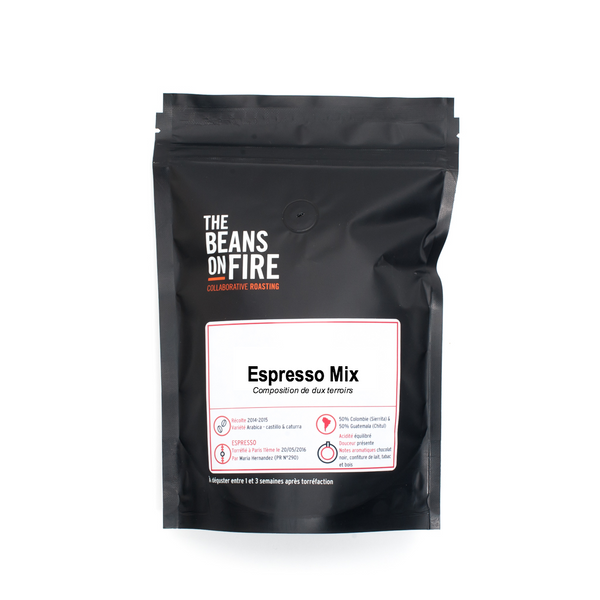 Espresso Mix - composition de terroirs