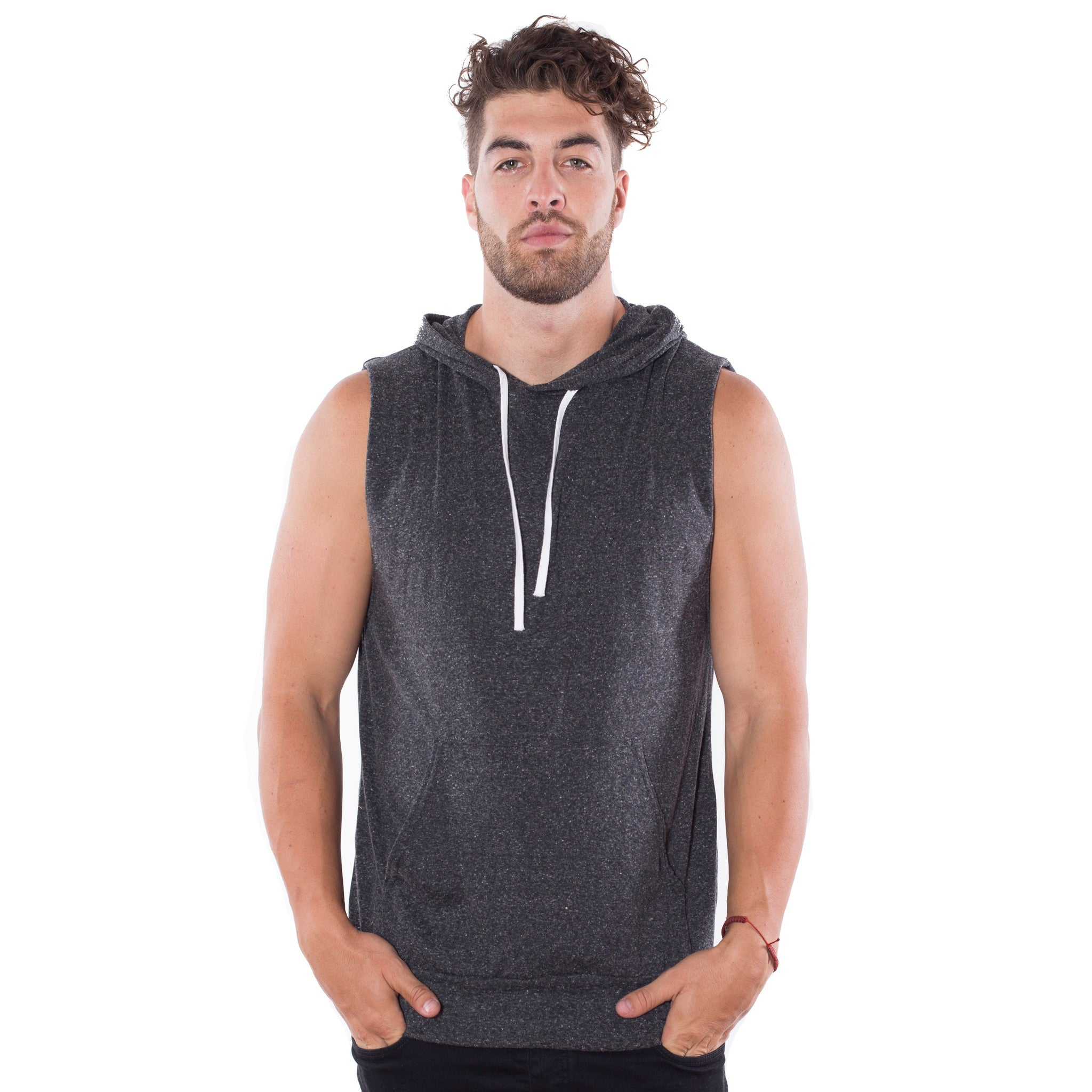 3537866faccec Unisex Sleeveless Pullover Hoodie - Over The Limit Apparel