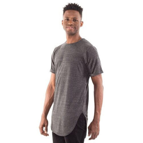 Men's Extended Curved Hem Tee