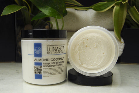 Almond Coconut Massage Body Butter and Mask