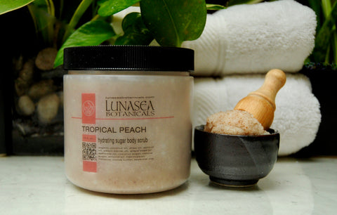Tropical Peach Sugar Polish