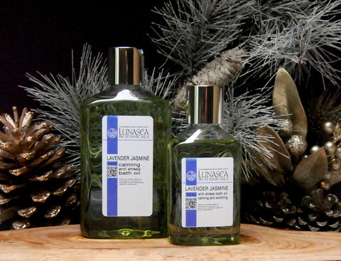 Lavender Jasmine Bath Body and Massage Oil