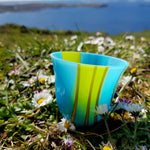 'Spring' - Fused Glass Vase