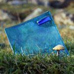 Killary Fjord - Small Fused Glass Plate