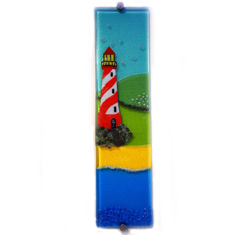 'The Lighthouse' - Fused Glass Wall Panel