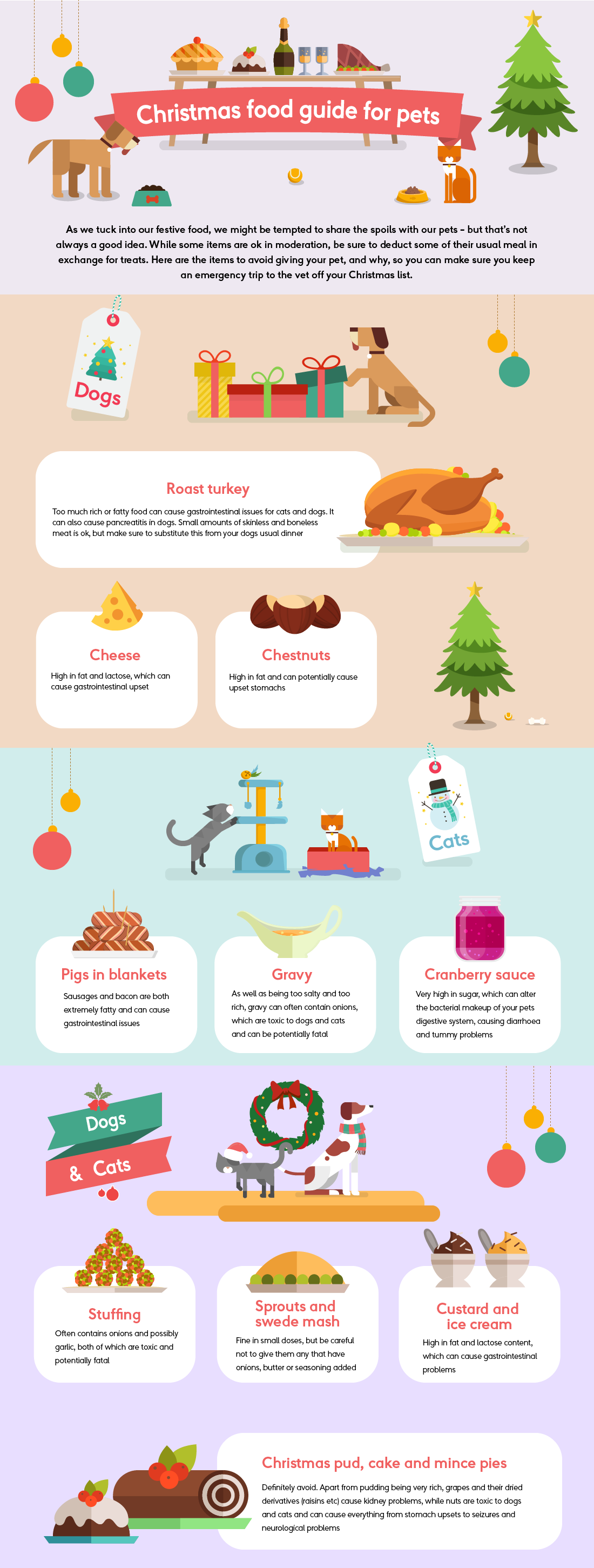 Guide to Christmas Dinner and Pet Safety