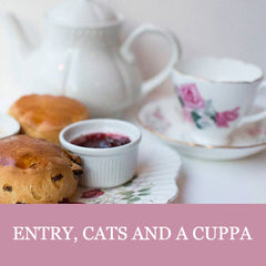 Entry and a Cuppa - Lady Dinah's Cat Cafe
